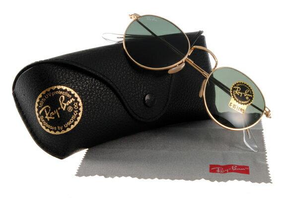 Ray Ban 雷朋 金邊綠鏡色 太陽眼鏡 RB3447 0