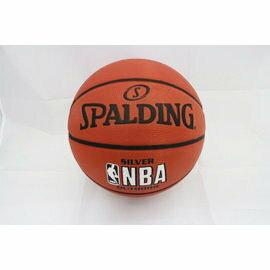 【陽光樂活=】斯伯丁 SPALDING 銀色NBA 女子籃球 SPA83015 Silver Outdoor 橘 #6