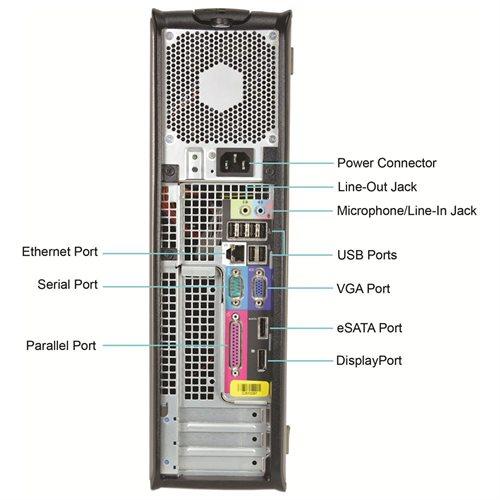 Dell OptiPlex 760 Desktop Intel C2D-3.16GHz, 4GB RAM, 1TB HDD, DVDRW, Win 10 Pro (64-bit) 2