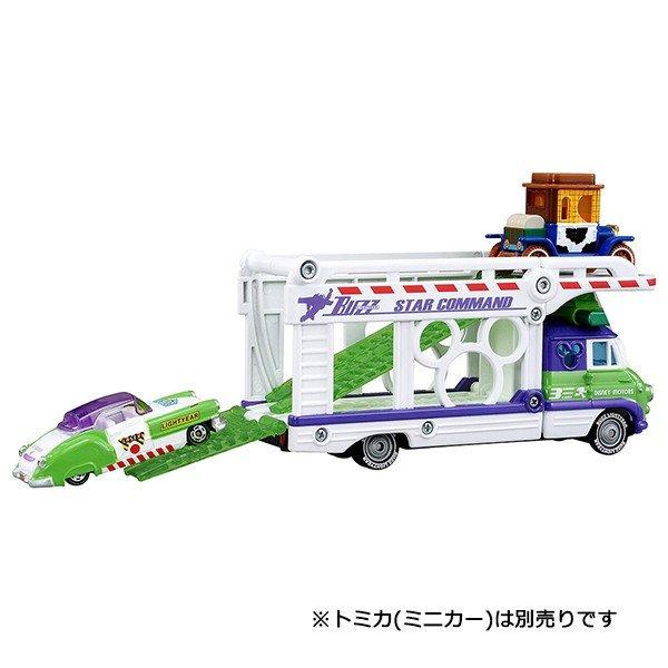 大賀屋 日貨 胡迪 巴斯光年 運輸車 Tomica 多美 收納車 多美小汽車 合金車 玩具車 正版 L00011607
