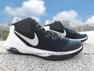 Shoestw【852431-001】NIKE AIR VERSITILE 籃球鞋 中筒 黑銀白├【1101-1130】單筆訂單滿700折100★結帳輸入序號『loveyou-beauty』┤