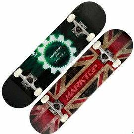 【雙翹滑板-99A高彈PU輪減震墊-78.5*20*10cm-1套/組】專業楓木四輪滑板 公路滑板 男女成人滑板(送軸承、套筒)-56041