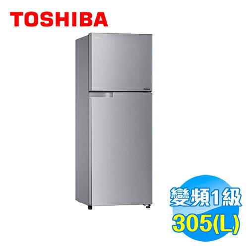 Toshiba 東芝 305公升變頻等離子雙門電冰箱 GR-T320TBZ