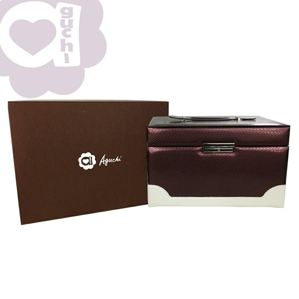 【亞古奇 Aguchi】繆斯女神-玫瑰紫 珠寶盒(浪漫女伶系列) - 手工精品時尚設計珠寶盒/戒盒/耳環盒 2