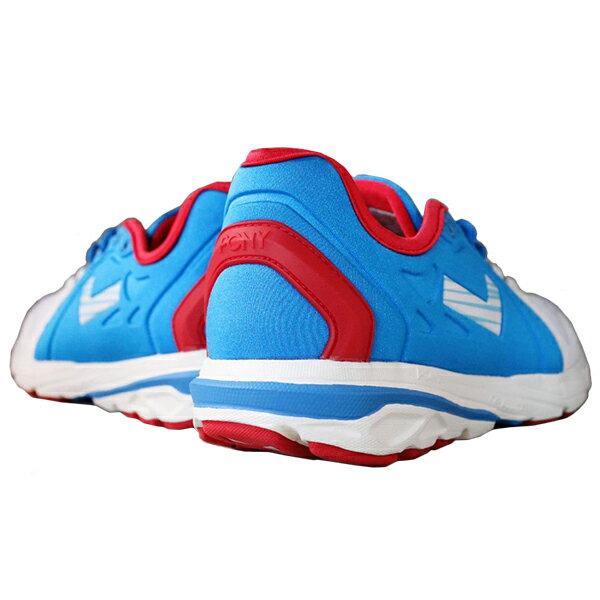《限時特價799元》Shoestw【63W1VE62RB】PONY 復古慢跑鞋 休閒鞋 網布 透氣 水藍白紅 俄羅斯 女生 1