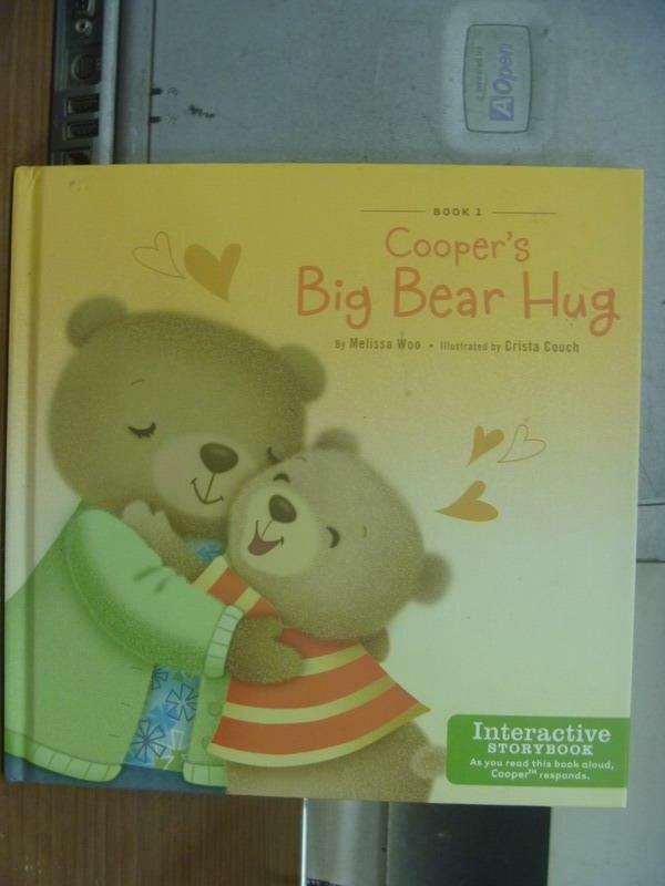 【書寶二手書T2/語言學習_MAD】Cooper's big bear hug_2011