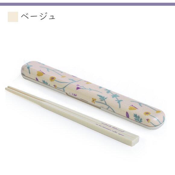 日本便當盒  /  浪漫花漾印花筷子(含收納盒)  /  bis-0503  /  日本必買 日本樂天直送(1000) /  件件含運 8