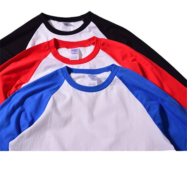 【GILDAN】亞規七分袖棒球T恤 76700系列 1