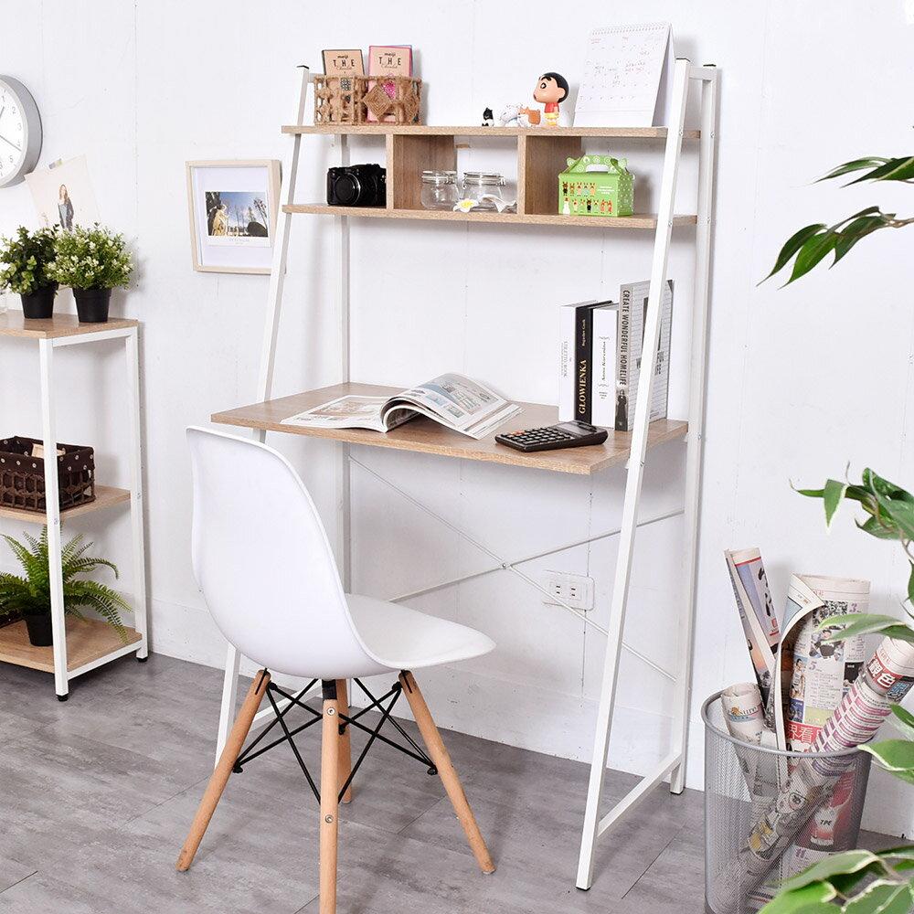 電腦桌 / 書桌 / 工作桌 雙層收納格書桌【B07083】台灣製造 凱堡家居 1
