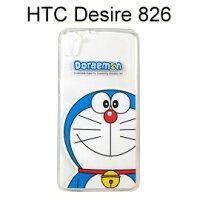 小叮噹週邊商品推薦哆啦A夢透明軟殼 [大臉] HTC Desire 826 小叮噹【正版授權】