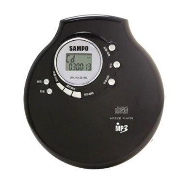 SAMPO聲寶CD/MP3隨身聽WK-W1281ML