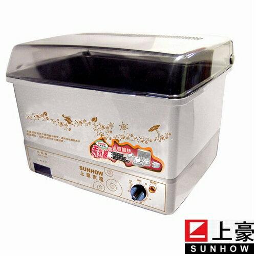 上豪10人份烘碗機DH-1565/DH1565 /採用赤外線陶瓷管加熱,抑菌功能佳《刷卡分期+免運費》