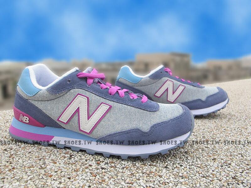 《下殺7折》Shoestw【WL515AHA】NEW BALANCE NB515 復古慢跑鞋 藍紫 女生尺寸