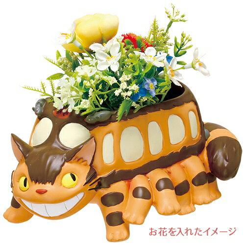 【真愛日本】16022600031 花器-貓公車 預購 龍貓 TOTORO  花器 擺飾 收納 正品