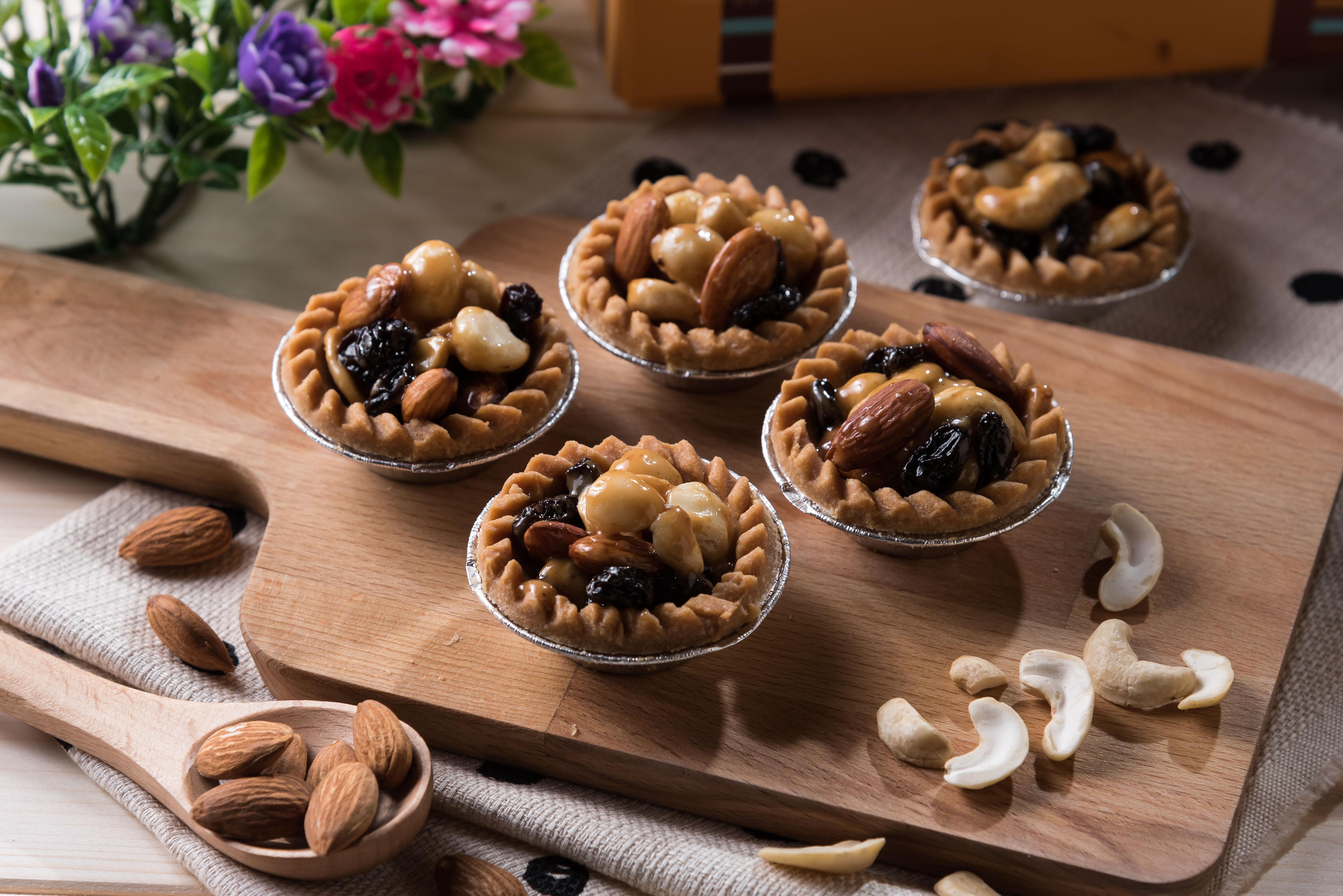 綜合堅果塔 6入/盒 ♡夏威夷果豆塔♡酥脆塔皮、健康蜂蜜糖漿♡下午茶、派對、伴手禮選擇
