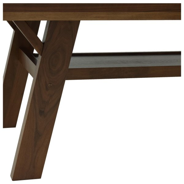 【馬小姐專用】◎(OUTLET)實木餐桌 FRANS 180 DBR 橡膠木 福利品 NITORI宜得利家居 3