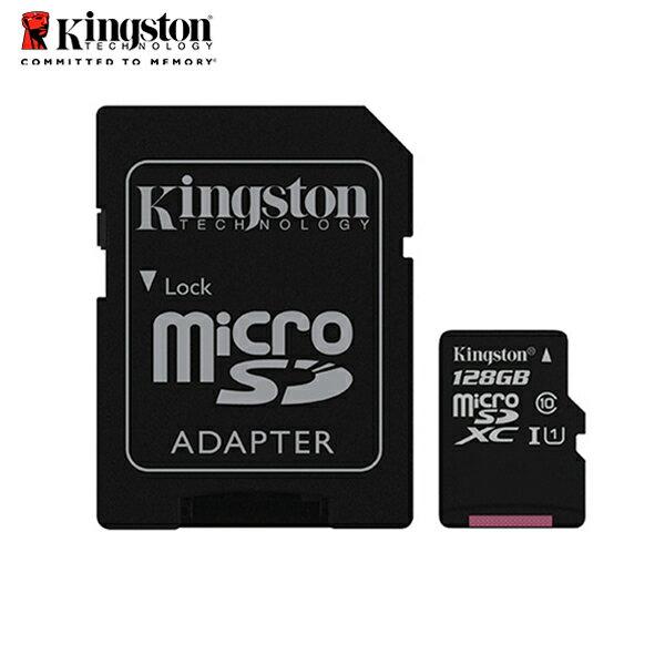 金士頓128GBKingstonmicroSDHCClass10記憶卡保固公司貨