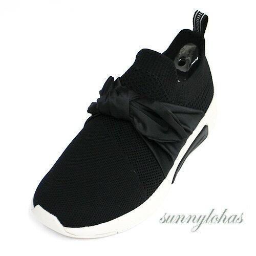 SKECHERS(女)MODERNJOGGERNATIONAL緞帶時尚休閒鞋運動鞋-68741BLK黑[陽光樂活]