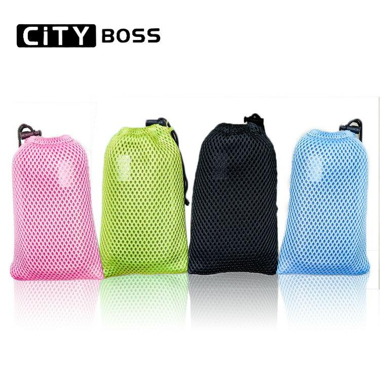 City Boss 5.5吋 透氣網布袋 束口袋 收納袋 網格透氣 行動電源袋 收音機保護袋 防撞袋 散熱袋 手機袋 提袋 露營收納 i8/i7/i6 plus/TIS購物館