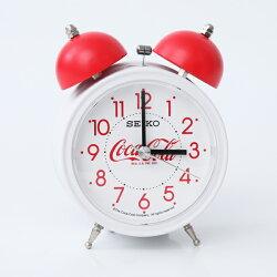 鬧鐘 SEIKO可口可樂白色鬧鐘【NV65】柒彩年代