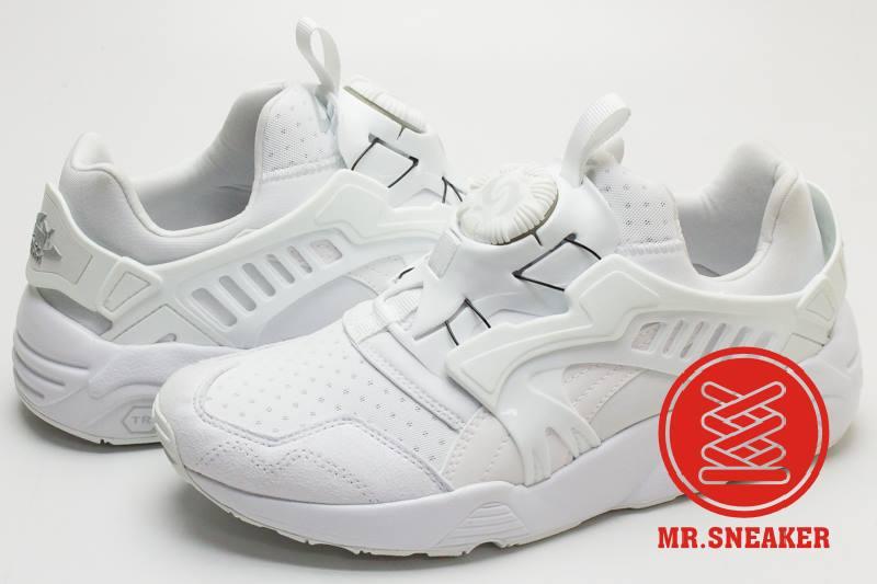 ☆Mr.Sneaker☆ Puma Disc Blaze 轉盤 白武士 後提把 蜂巢避震 TRINOMIC 網布 男女段