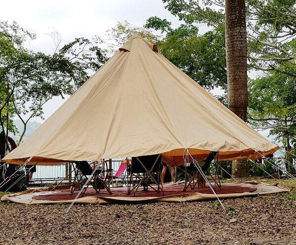 美麗大街【107041704E2】bell500大型鐘形帳篷蒙古包印地安帳篷