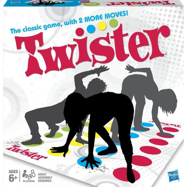 【孩之寶歡樂桌遊】Twister 扭扭樂