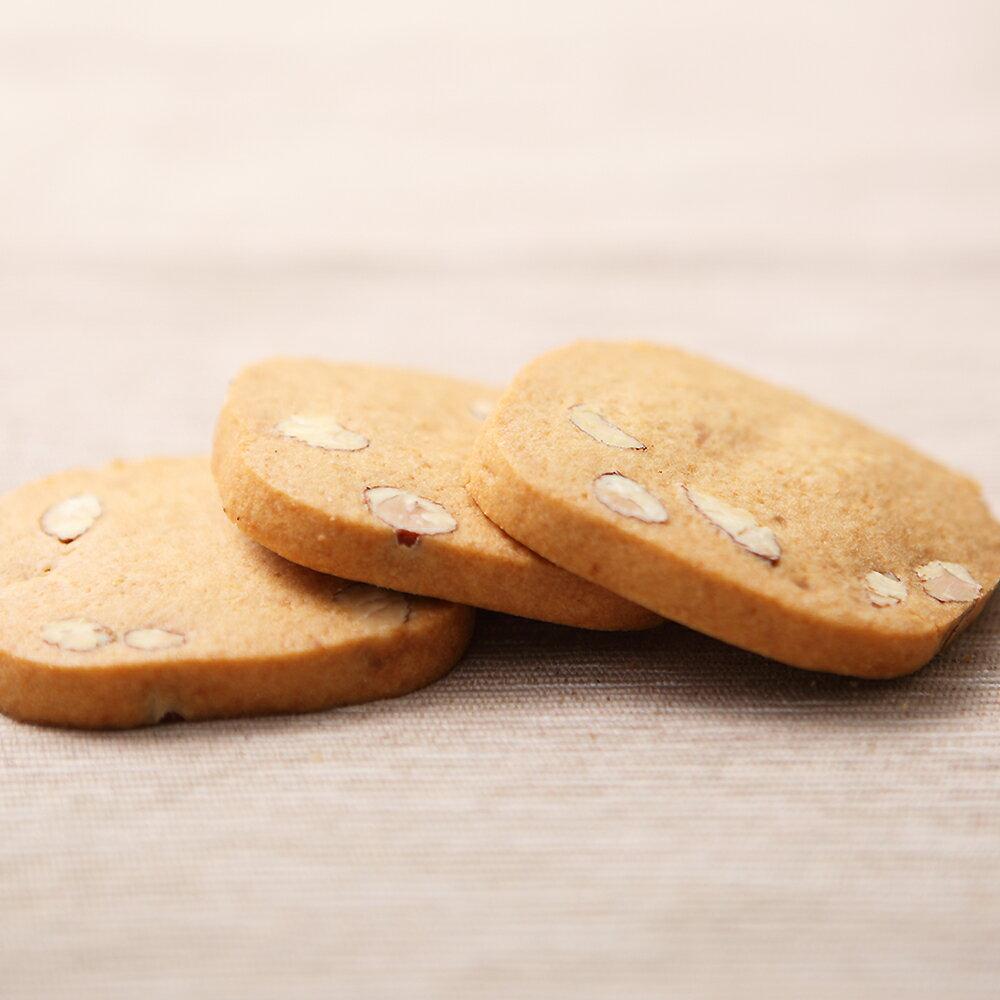 【午茶夫人】手工餅乾 杏仁酥片 - 200g / 罐 ☆ 滿滿豐富的杏仁 / 堅果結合餅乾的奶香,咬下一口口的香酥脆 ☆ 2