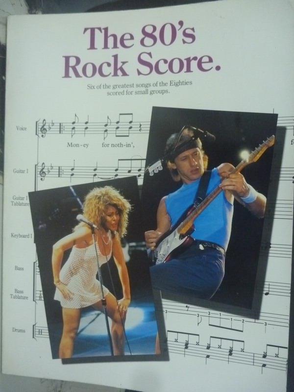 ~書寶 書T8/音樂_YHH~The 80 #x27 s Rock Score_Vario