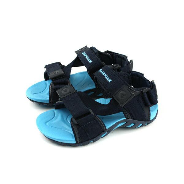 Airwalk涼鞋童鞋深藍色中童A823230180no002