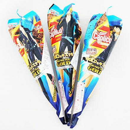 【敵富朗超巿】江崎Glico - Giant 巨人巧克力餅乾冰淇淋甜筒 1