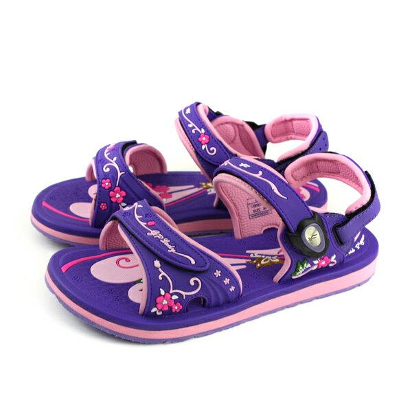 GP(Gold.Pigon)阿亮代言涼鞋防水雨天女鞋紫粉紅G8687W-41no952
