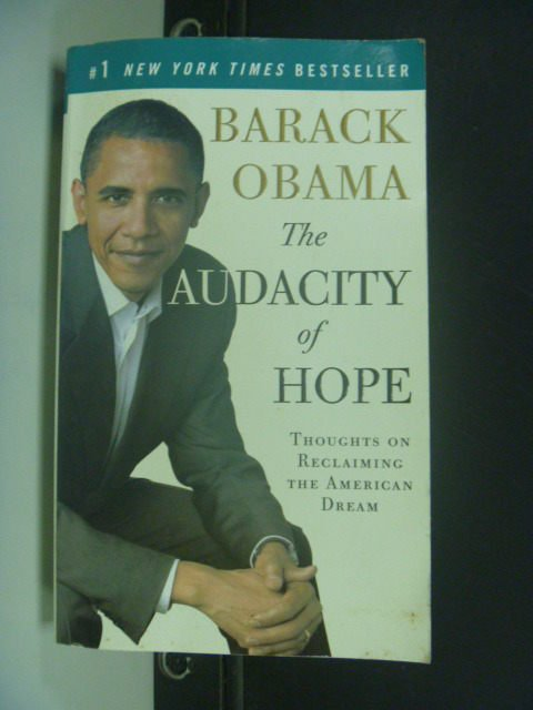 【書寶二手書T9/政治_ILL】The Audacity of Hope_BARACK OBAMA