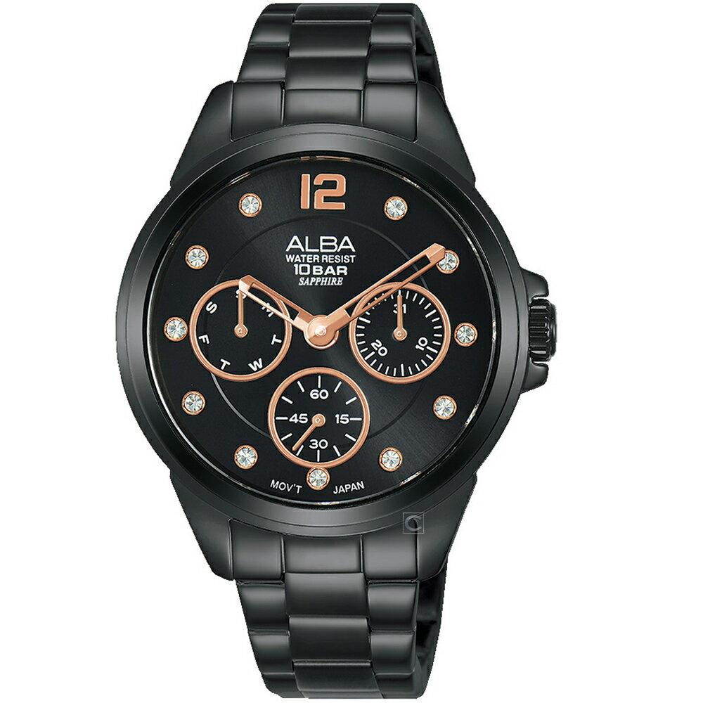 寶時鐘錶 ALBA雅柏百搭潮流女錶 VD75-X123SD AP6641X1