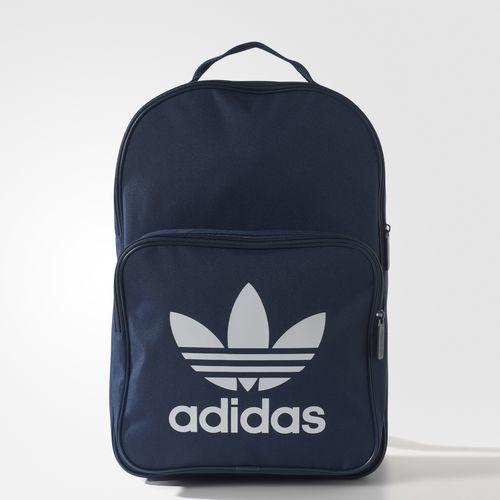 ADIDAS ORIGINALS TREFOIL BACKPACK 後背包 雙肩 休閒 舒適 藍 白 【運動世界】 BK6724