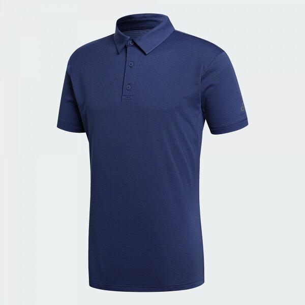 ADIDASCLIMACHILLPOLO男裝上衣短袖POLP衫涼感抗紫外線藍【運動世界】CE1444