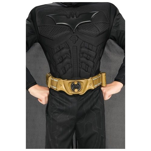 The Dark Knight Rises Deluxe Adult Batman Costume, Black, Medium 2