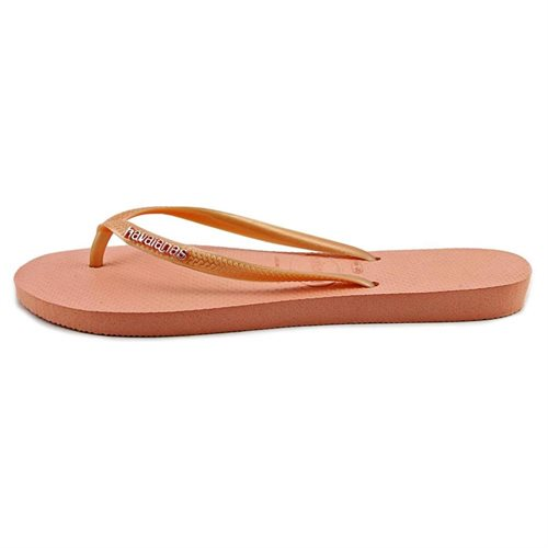 Havaianas Slim Logo Womens Synthetic Flip Flops 2