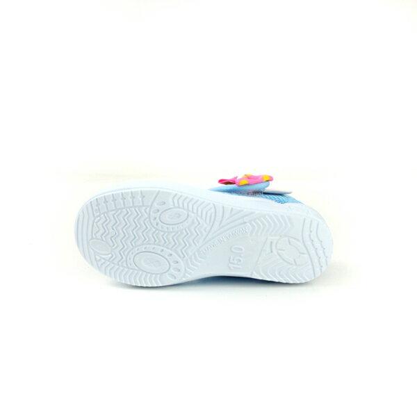 Hello Kitty 凱蒂貓 娃娃鞋 網布 水藍 中童 童鞋 718622 no759 6