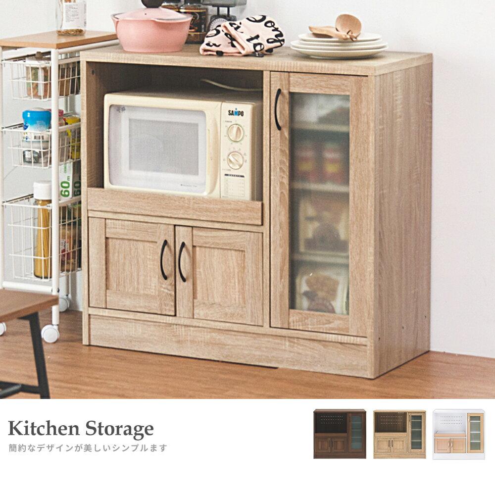 廚房收納 / 餐櫥櫃 / 電器櫃 夏洛電器收納廚房櫃(三色) 完美主義【N0057】 3