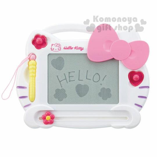 〔小禮堂嬰幼館〕Hello Kitty 造型畫板玩具《白.大臉.盒裝》