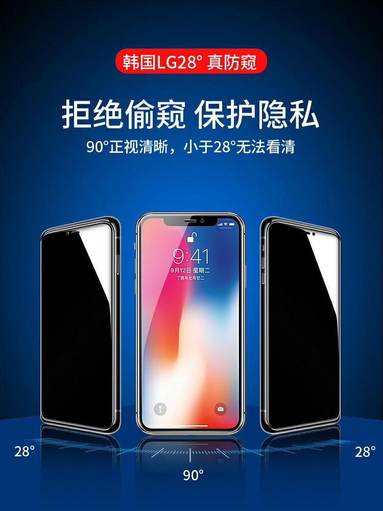 蘋果鋼化膜 蘋果x鋼化水凝膜xr手機xs全屏覆蓋xsmax防窺膜iphonex軟膜iphonexr鏡頭『XY17049』