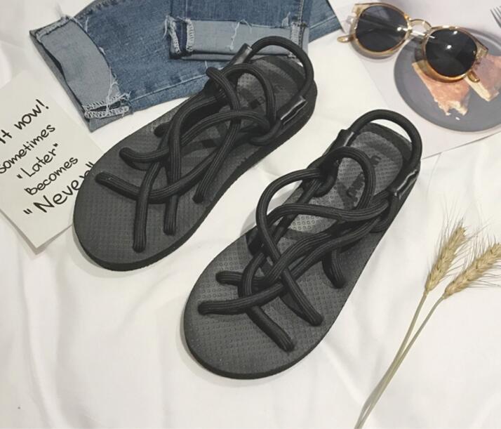 <br/><br/>  FINDSENSE品牌 男 時尚 潮 休閒 麻繩 涼鞋拖鞋 沙?拖鞋<br/><br/>