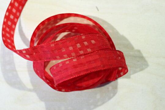 素色格網緞帶-15mm3碼(20色) 2