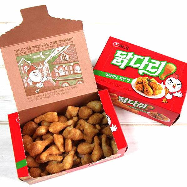 韓國 農心 炸雞腿餅乾 韓式炸雞風味 66g/盒 炸雞腿 餅乾 韓式 炸雞 風味【特價】§異國精品§