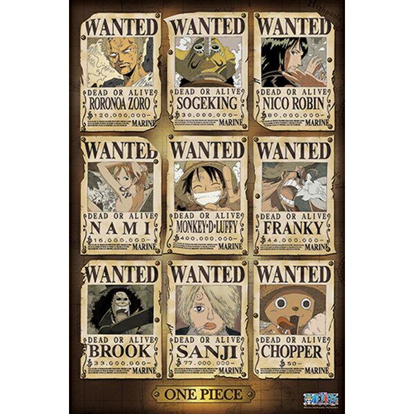 【P2 拼圖】海賊王/航海王 ONE PIECE-懸賞拼圖(復刻版)1000片 HP01000-099