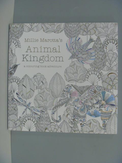 ~書寶 書T5/藝術_ZIU~Millie Marotta #x27 s Animal K