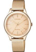 CITIZEN星辰 EM0503-83X 光動能腕錶-錶特城-流行女裝