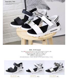[CHIA]韓國知名鞋廠氣墊涼鞋設計款(現貨)