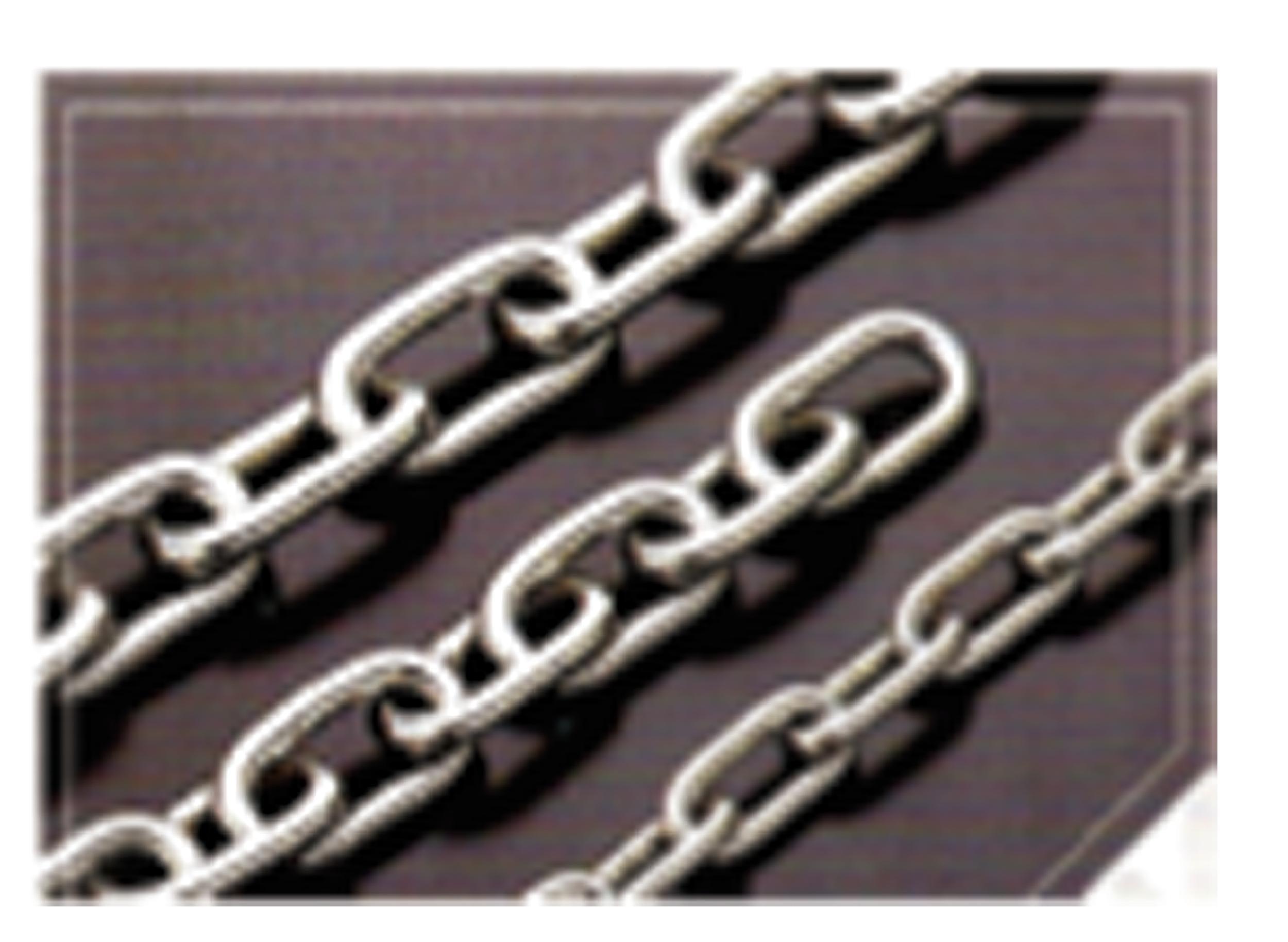 白鐵鏈條( 3m/m)鍊條 不鏽鋼鍊條 鐵鍊 鋼索 鋼夾 拉線器 白鐵鍊條